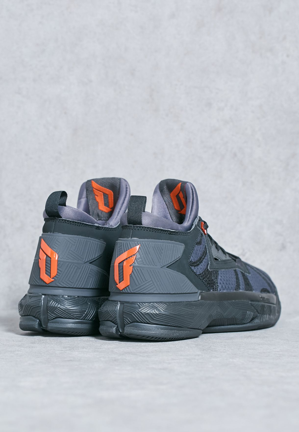 79f2e9887aec Shop adidas black D Lillard 2 B42355 for Men in UAE - AD476SH25QIO