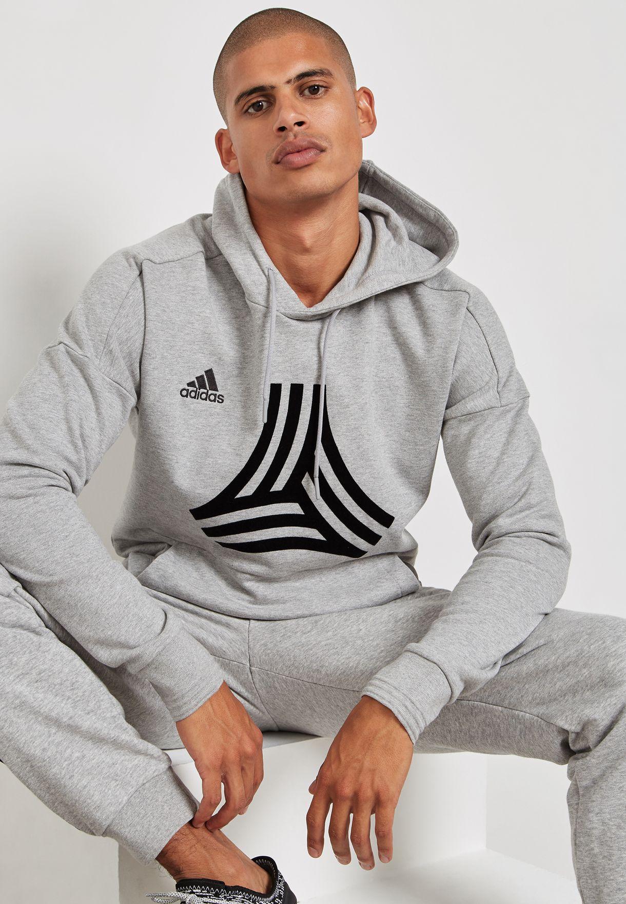083a01fc9 Shop adidas grey Tango Hoodie CG1858 for Men in UAE - AD476AT25AQO