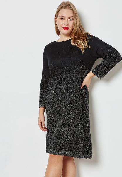 Shimmer Shift Dress