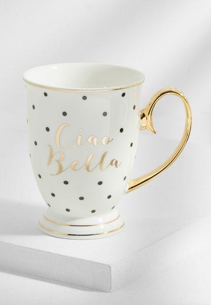 Ciao Bella Spotted Mug