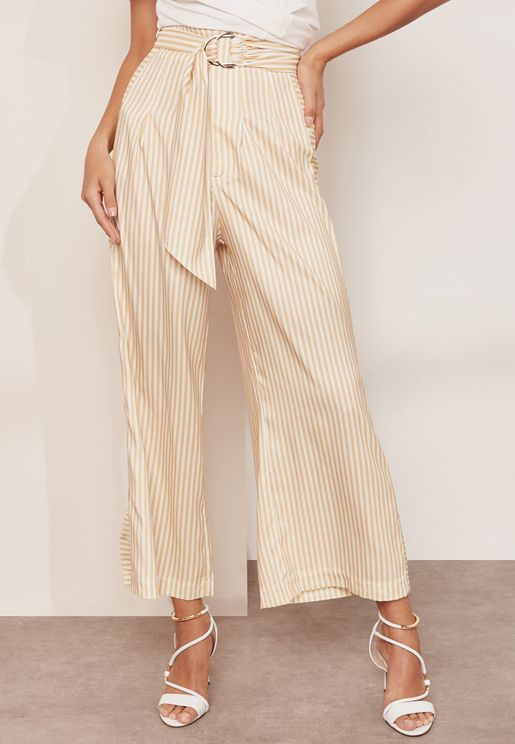 Believe in Me Wide Leg Satin Culottes