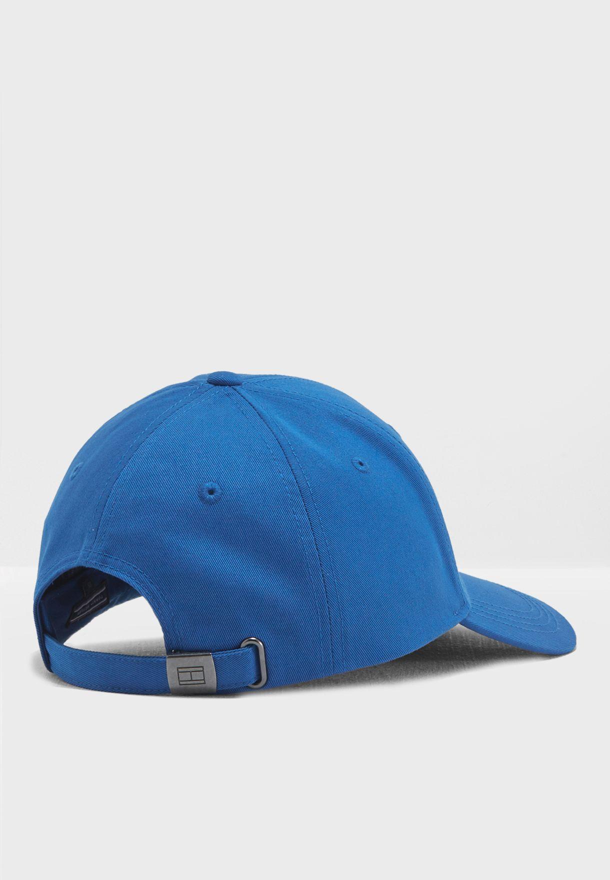 90d53317e6d Shop Tommy Hilfiger blue Classic Cap AM0AM03531 for Men in ...