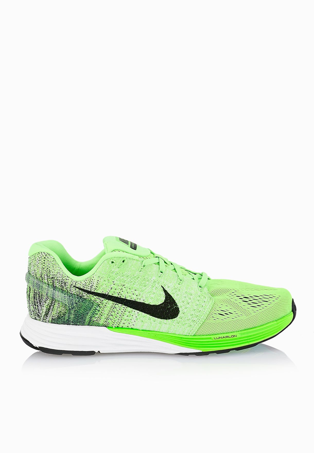 the latest 45819 51478 Shop Nike green Lunarglide 7 747355-302 for Men in UAE - NI727SH25SES