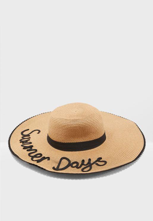 Summer Days Floppy Hat