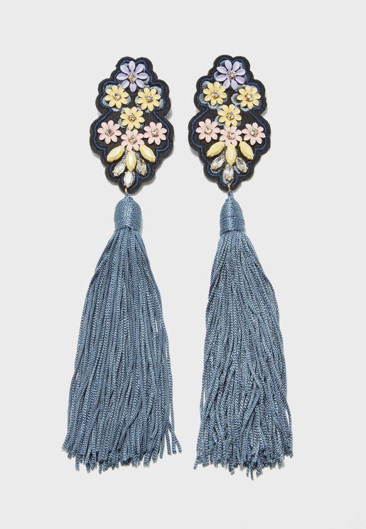 Irina Tassel Earrings