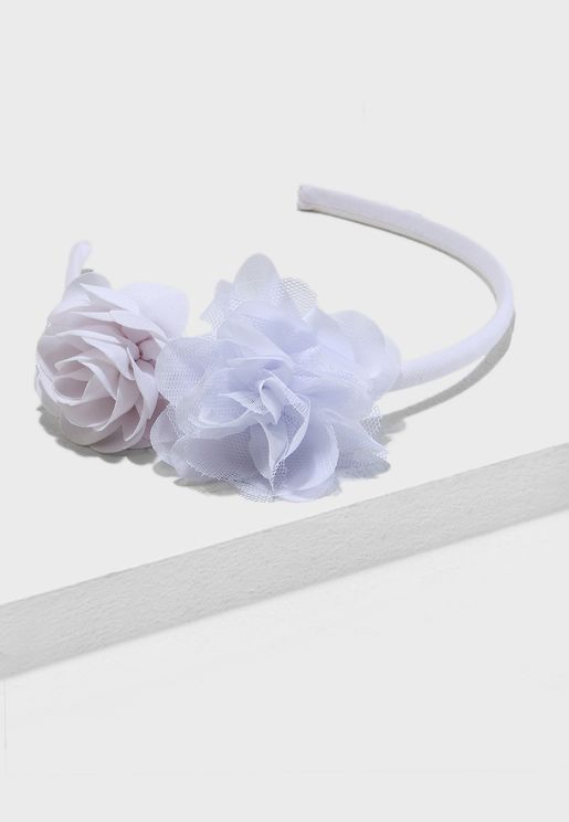 Kids Flower Detail Headband