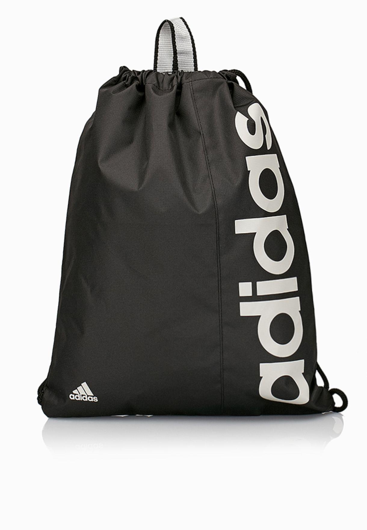 Shop adidas black Lin Gym Bag M69581 for Men in Qatar - AD476AC25UGS f71ec00d48