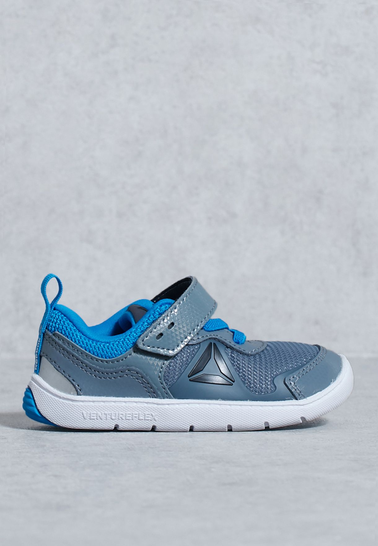 357d972eb0cbad Shop Reebok grey Ventureflex Stride 5.0 Infant BS5609 for Children in UAE  best