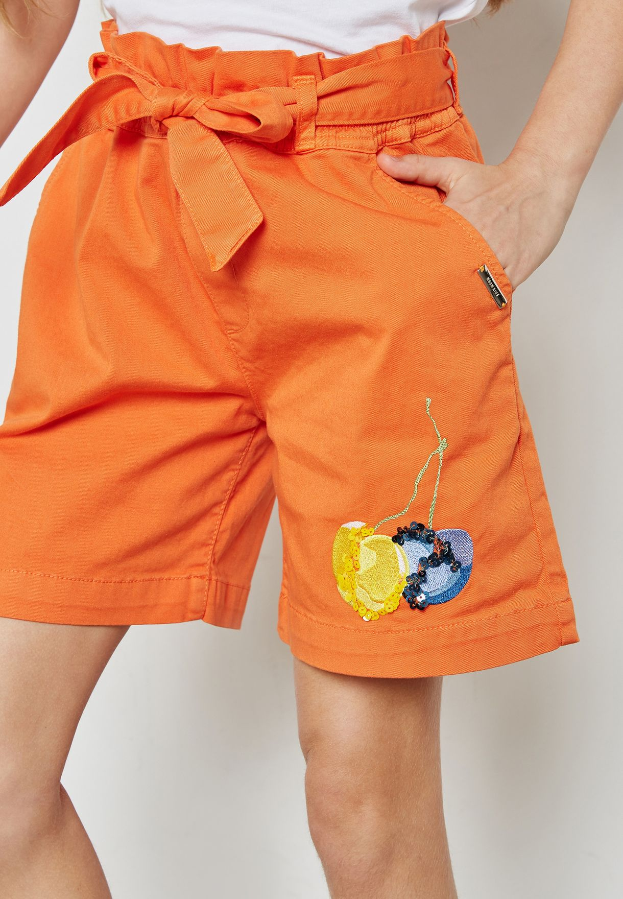 Little Tie Waist Shorts