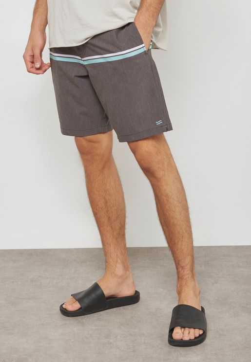 Loop Striped Board Shorts