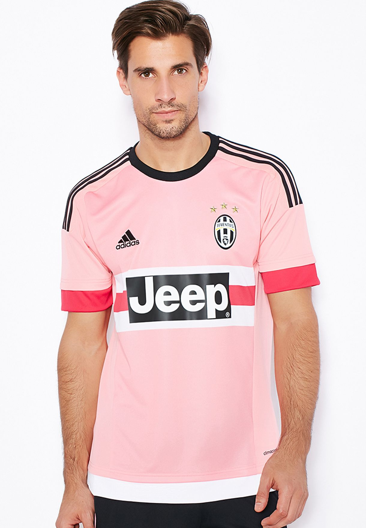 Shop adidas pink Juve Away Jersey S12846 for Men in UAE - AD476AT25CLE 30255fad7
