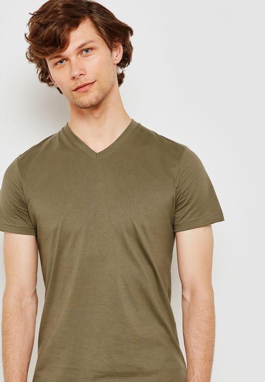 Basic V Neck T-Shirt