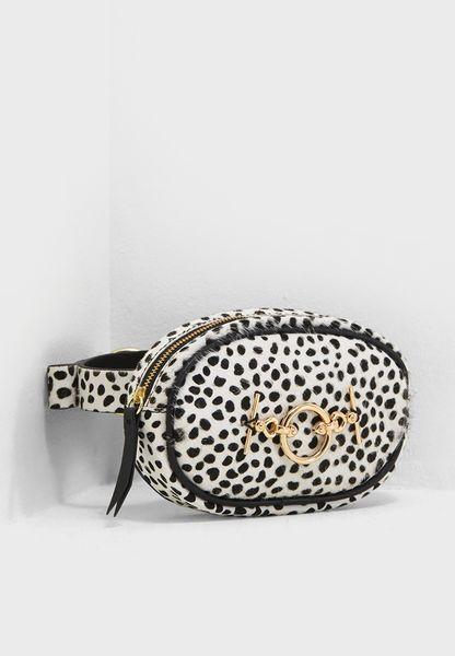 Leopard Purse Belt