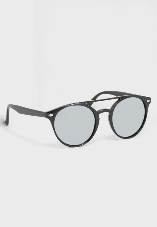 Polarised Round Sunglasses