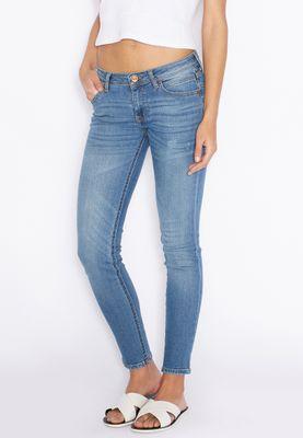 MANGO Washed Skinny Jeans