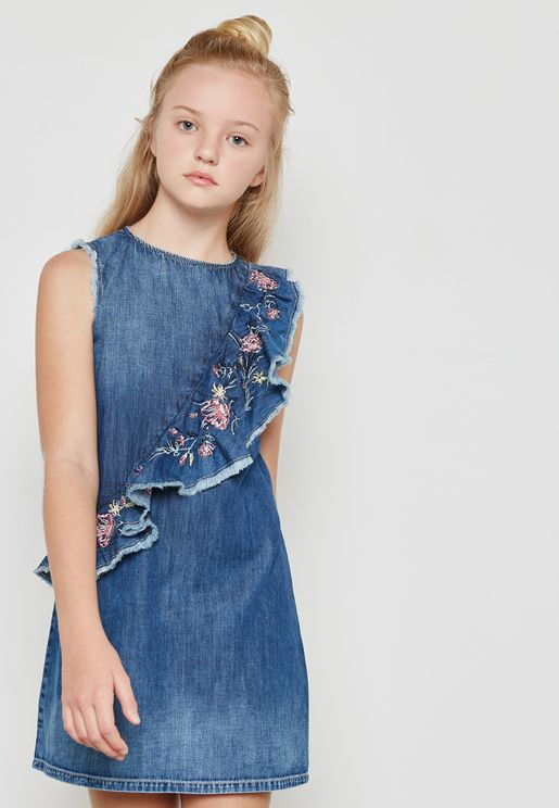 Little Ruffle Detail Dress
