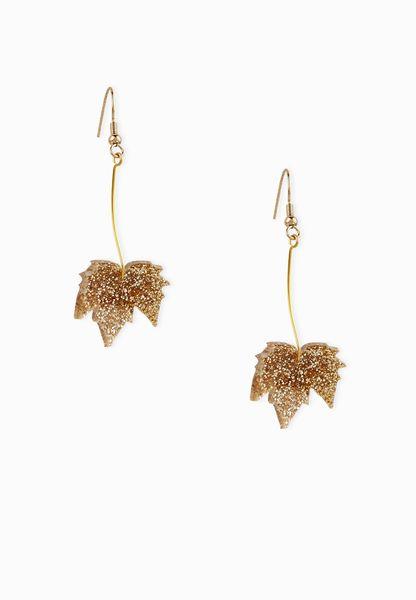 Tatty Devine fallen leaves earrings 397xUL4d