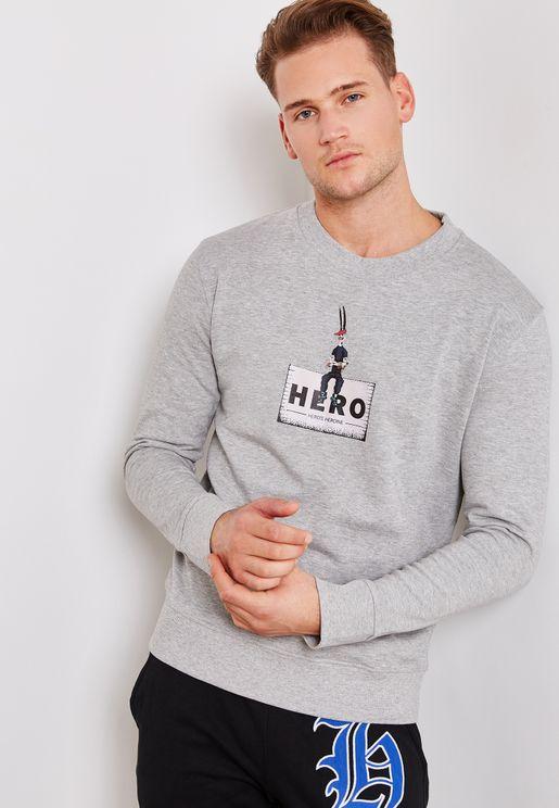 Hero Rabbit Sweatshirt