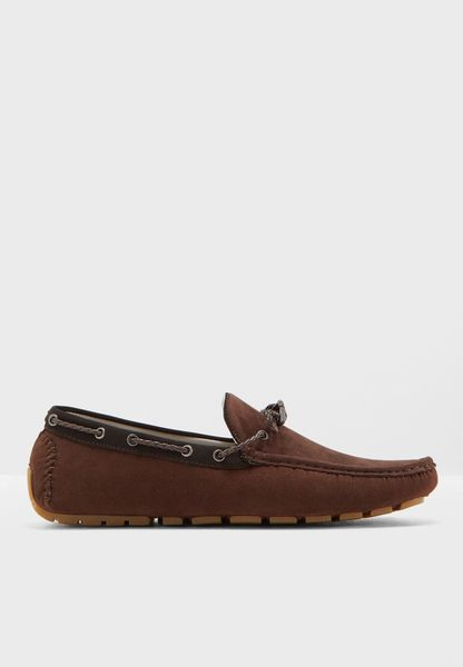 Shipton Laced Slip Ons