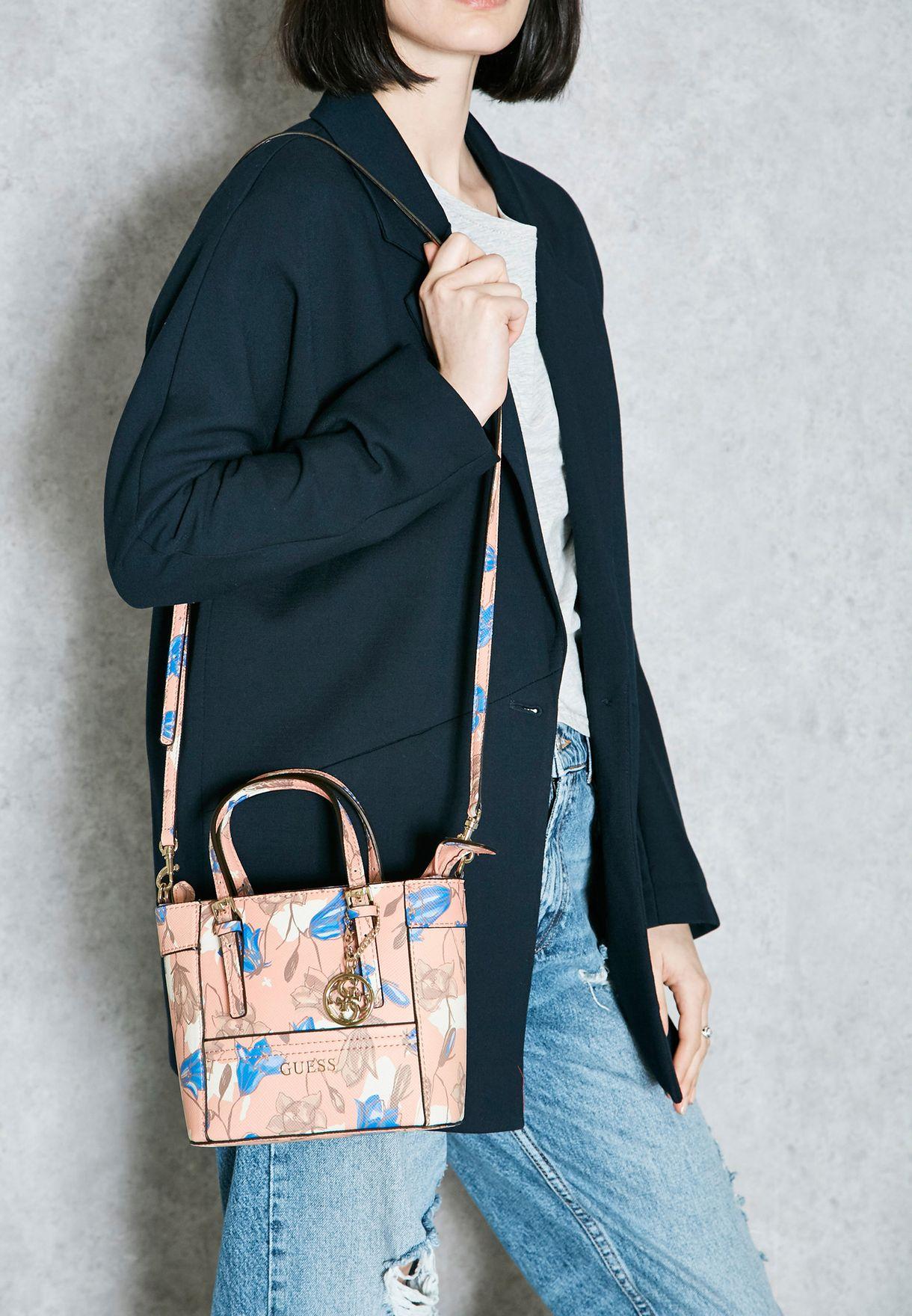 Shop Guess prints Mini Delaney Tote CF453577 for Women in Saudi ... c5ec980ba5d3d