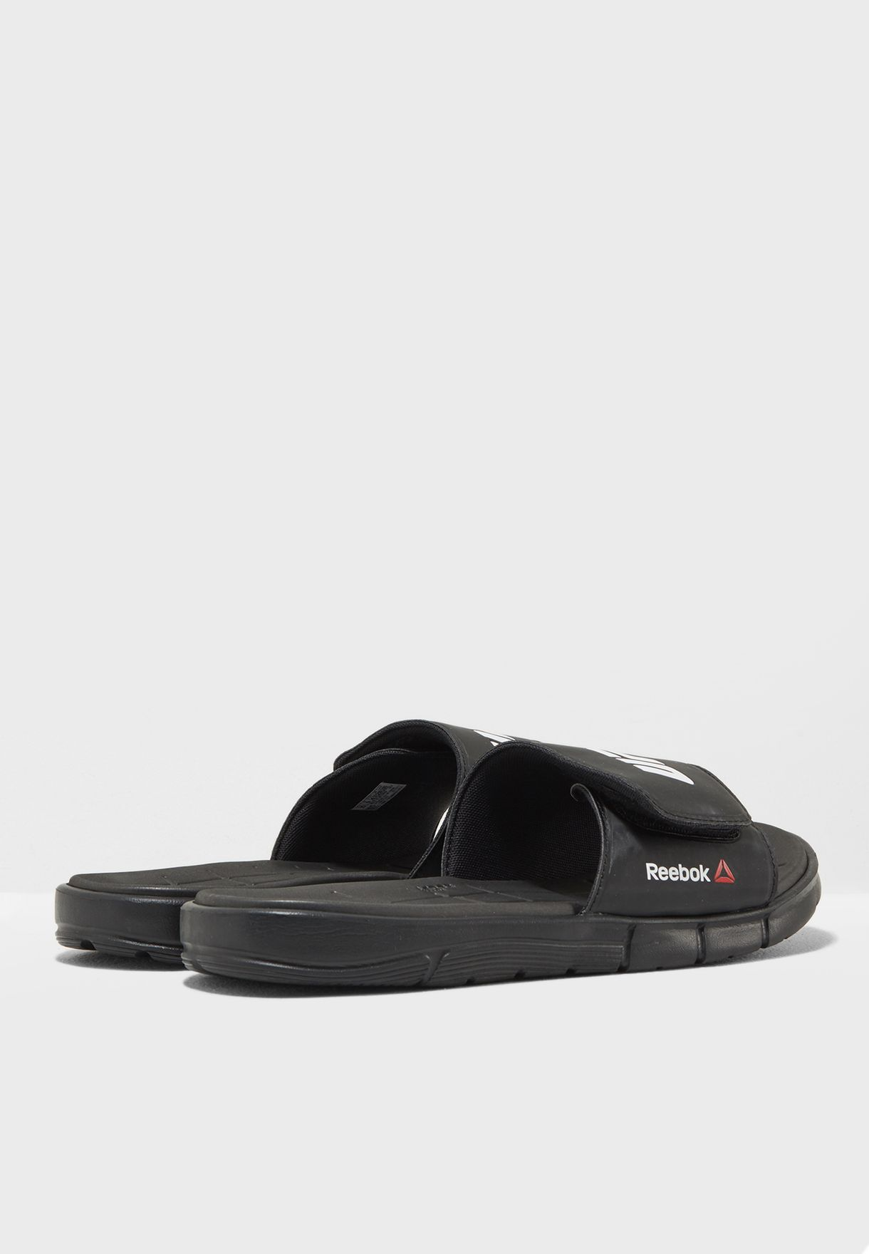 f10c3d481ae53 Shop Reebok black Z ADJ Slide BS7671 for Men in Saudi - RE019SH25UTQ