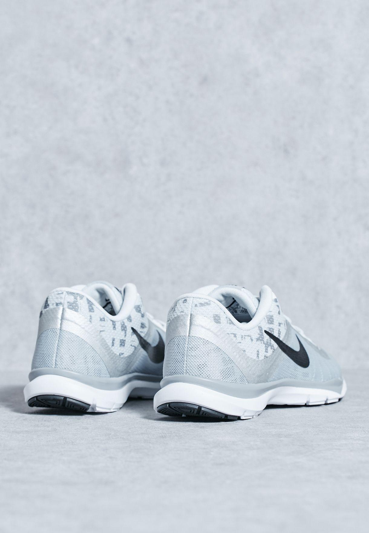 aa2788f8021 Shop Nike grey Flex Trainer 6 Print 831578-003 for Women in Bahrain ...