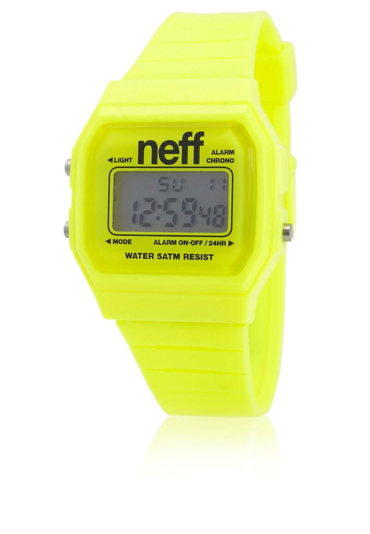 63e04a0fa تسوق Flava Watch ماركة نيف لون أصفر في قطر - NE706AC15HSE