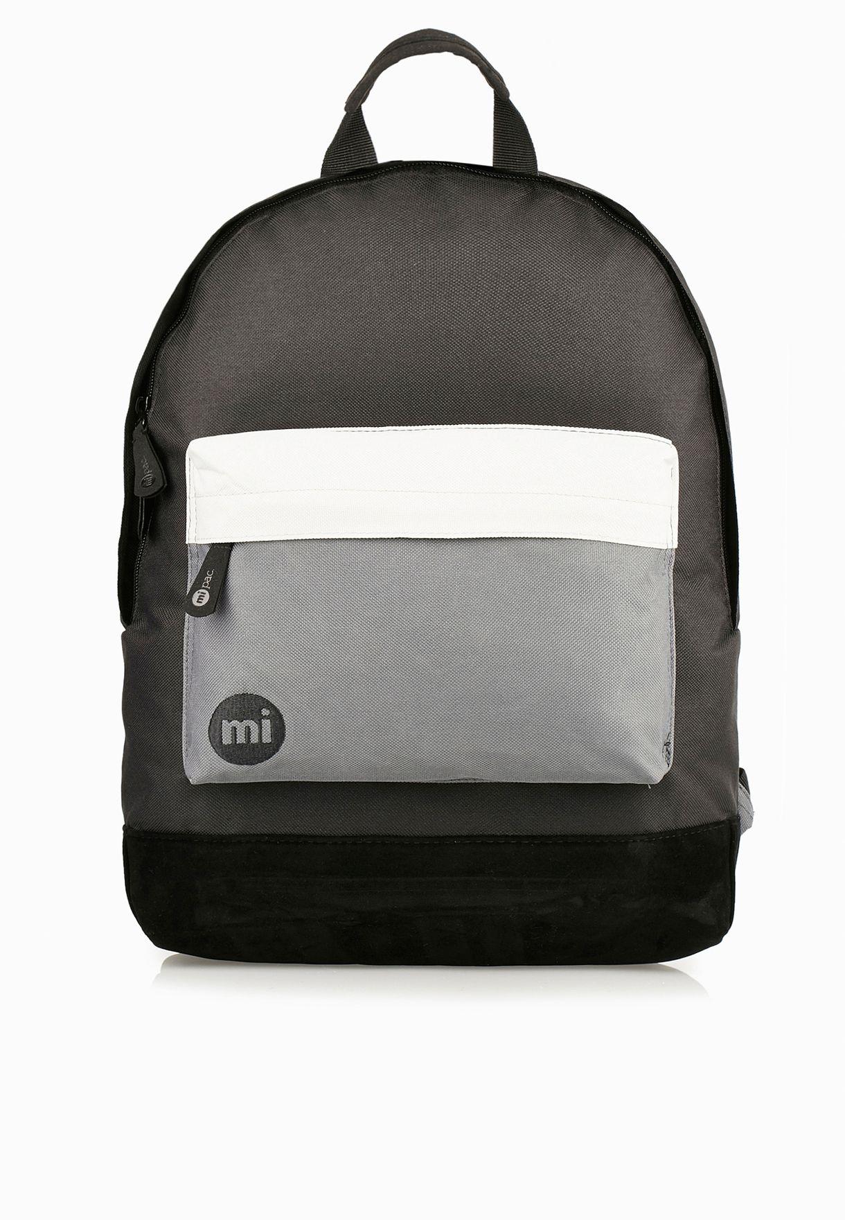 a05b619bbe7c2 تسوق حقيبة ظهر بشعار الماركة ماركة مي باك لون أسود 740002A01 في ...