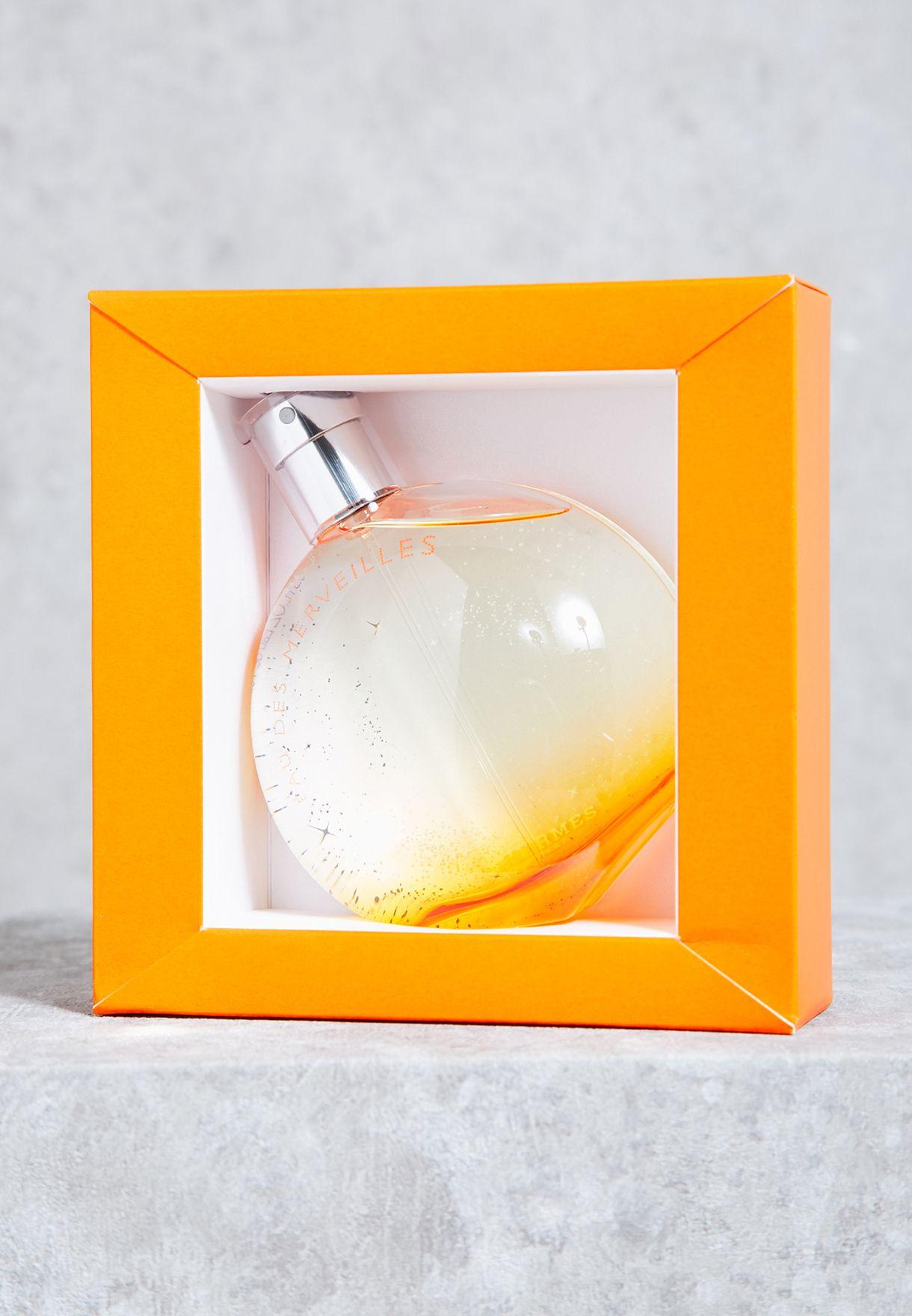 Shop Hermes Clear Eau Des Merveilles 100ml Edt 3346131700011 For Woman 100 Ml