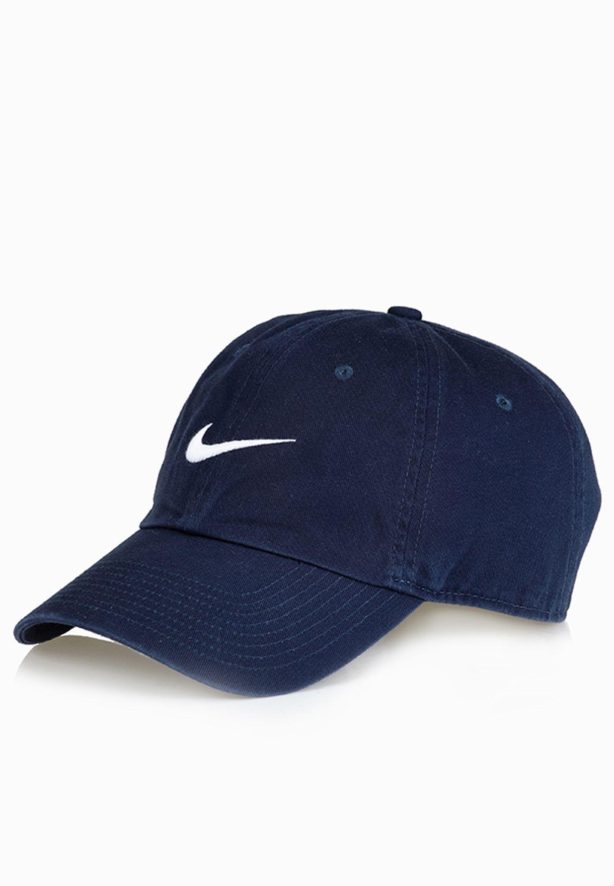 f9fe141adcf Shop Nike blue Heritage 86 Cap 546126-454 for Men in Saudi ...