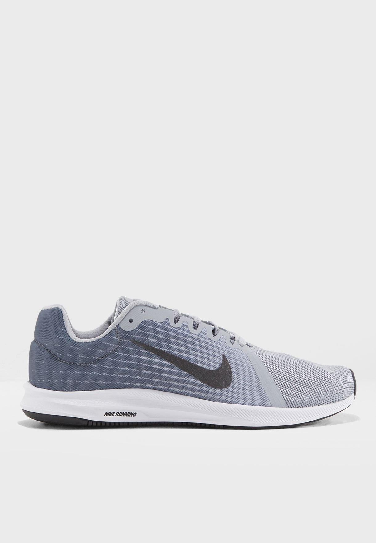 big sale 56fcd c2cce Shop Nike grey Downshifter 8 908984-004 for Men in Saudi - NI727SH15FKY