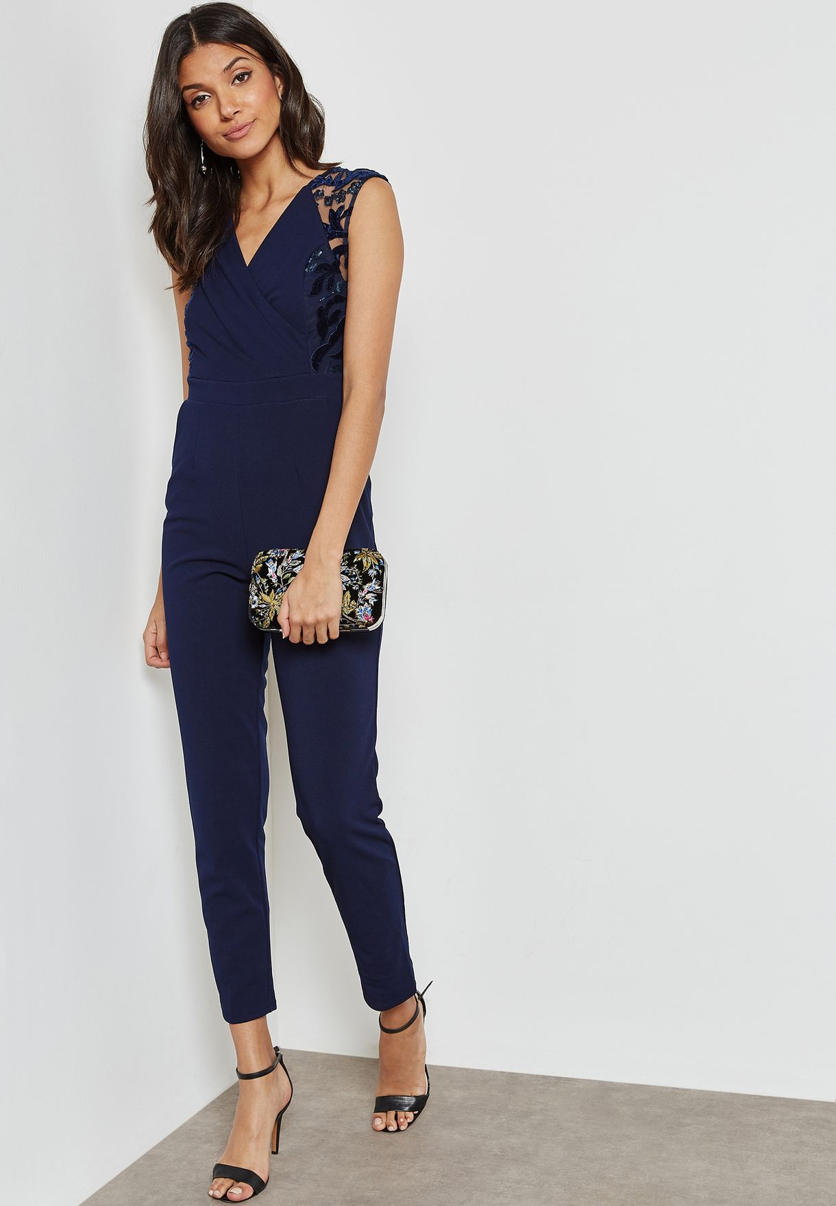 Applique Detail Jumpsuit