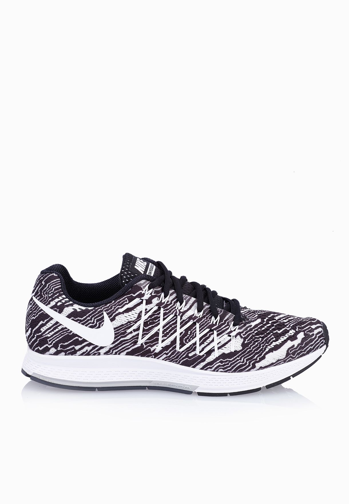 quality design 1e435 04df0 Shop Nike monochrome Air Zoom Pegasus 32 Print 806805-001 for Men in  Bahrain - NI727SH15XBC