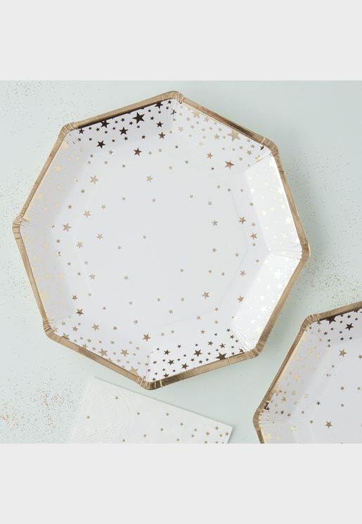 Star Foiled Plate