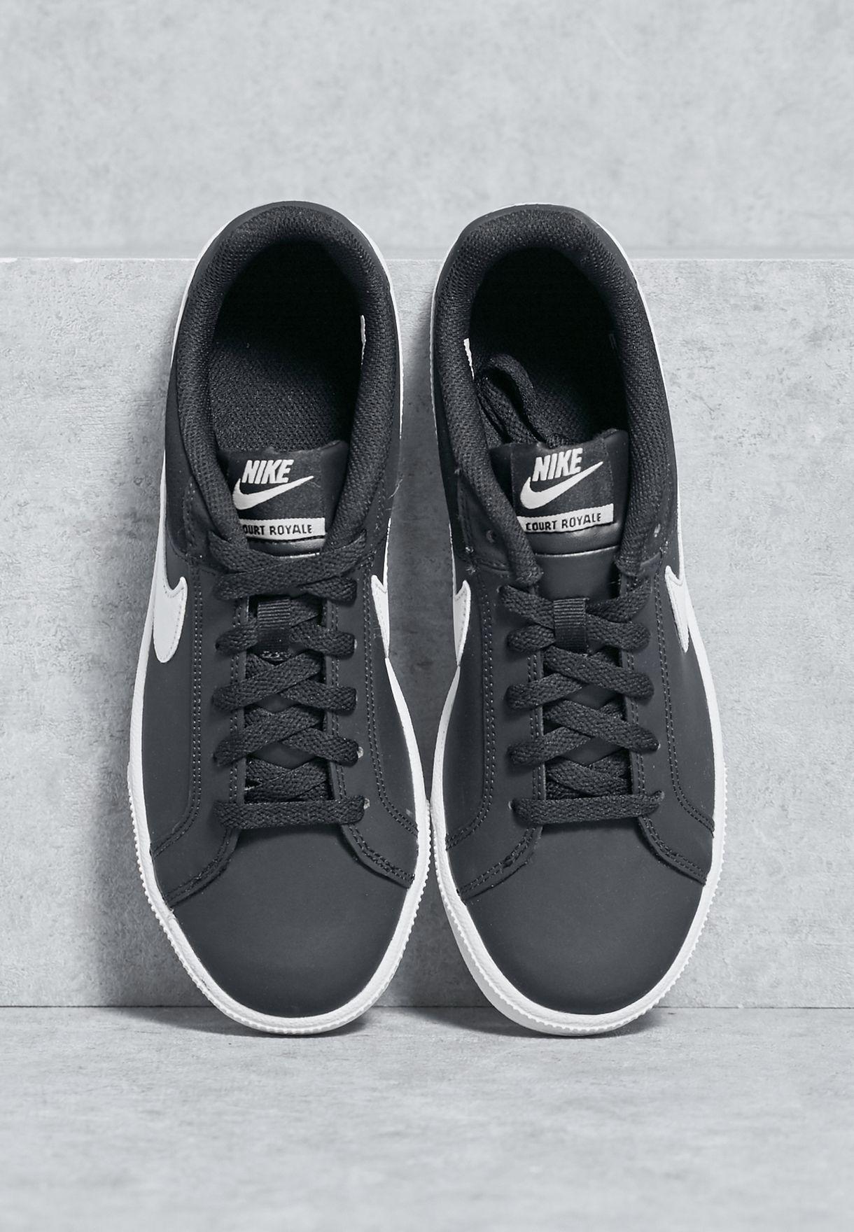 huge selection of a1c2c 377d1 Shop Nike black Court Royale 749867-010 for Women in Saudi - NI727SH15WZC