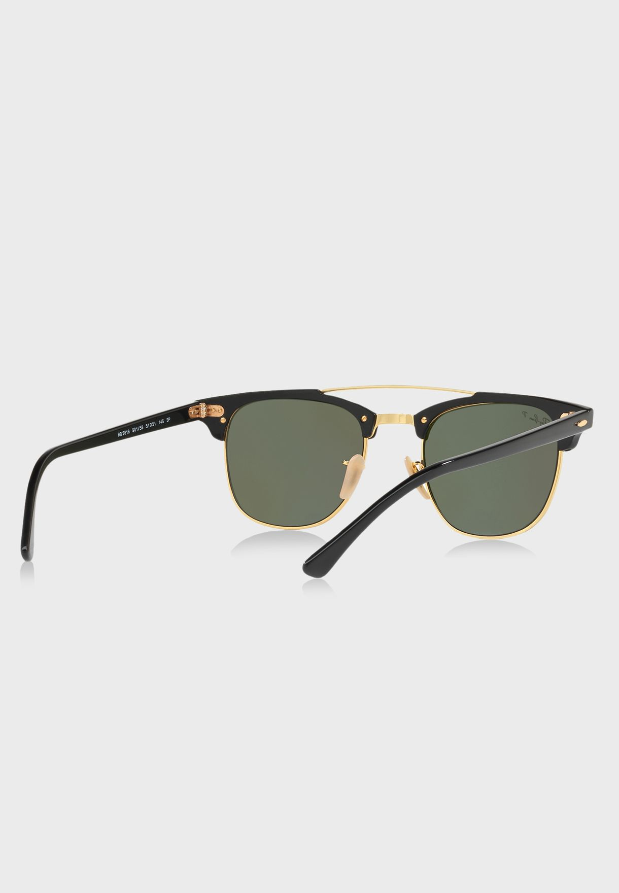 9e18a728a65 Shop Ray-Ban black Clubmasters 8053672851076 for Men in Qatar ...
