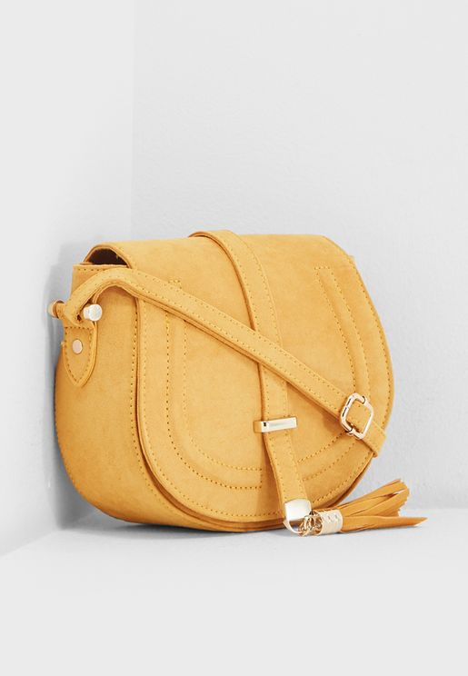 Tassel Detail Crossbody
