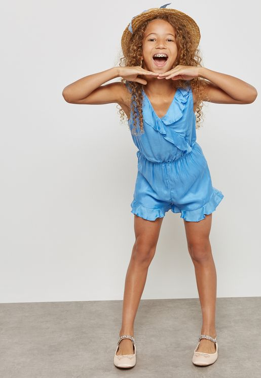Teen Lucia Frill Playsuit
