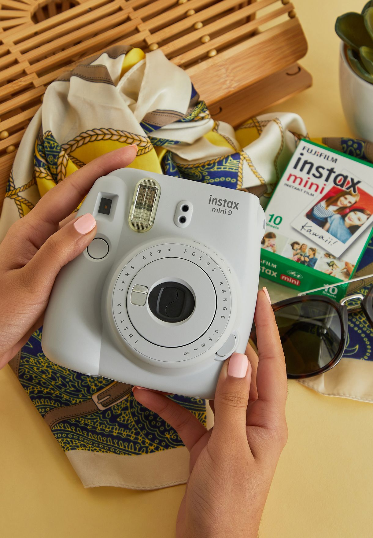 Mini Smoky Instax Camera + Instax Mini Film