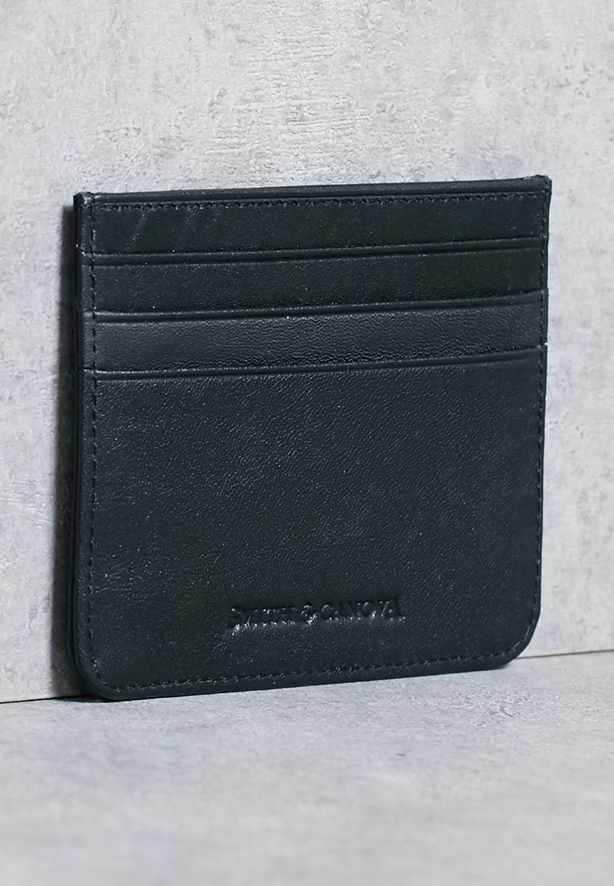 57396efd7fdd Shop smith   canova black Casual Credit Card Holder 28588 BLACK for ...