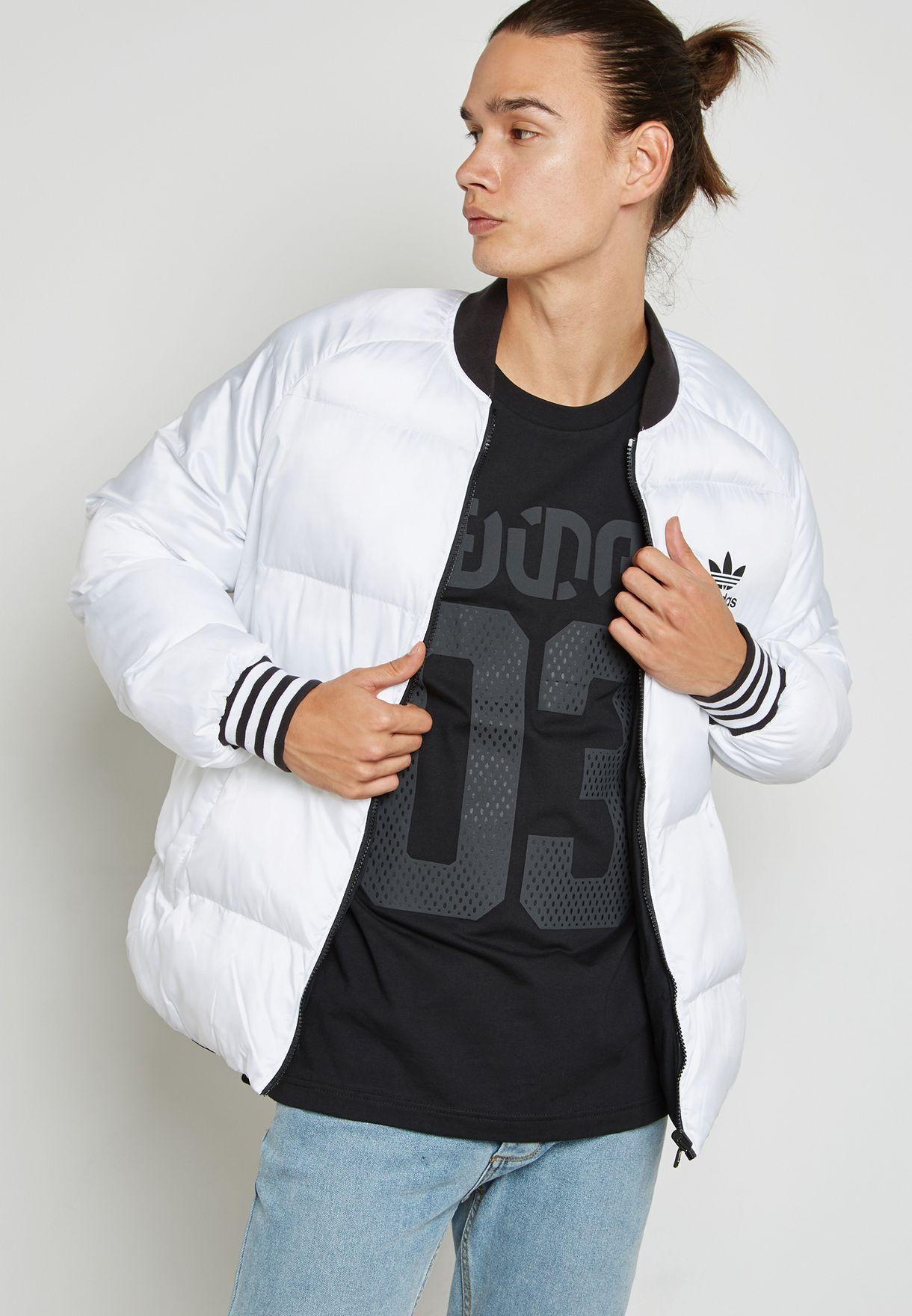 58775f570613 Shop adidas Originals black Superstar Padded Reversible Jacket BR4791 for  Men in Bahrain - AD478AT15JTO