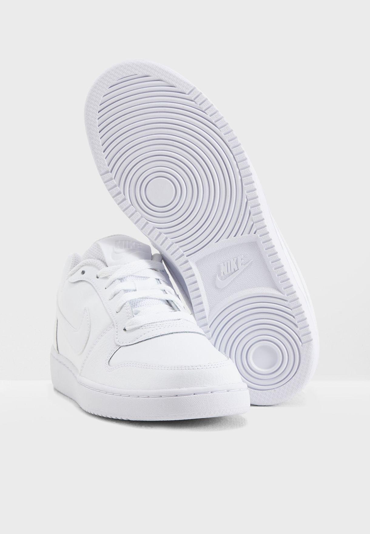 fe3f7708cfc Shop Nike white Ebernon Low AQ1779-100 for Women in UAE - NI727SH15QMI