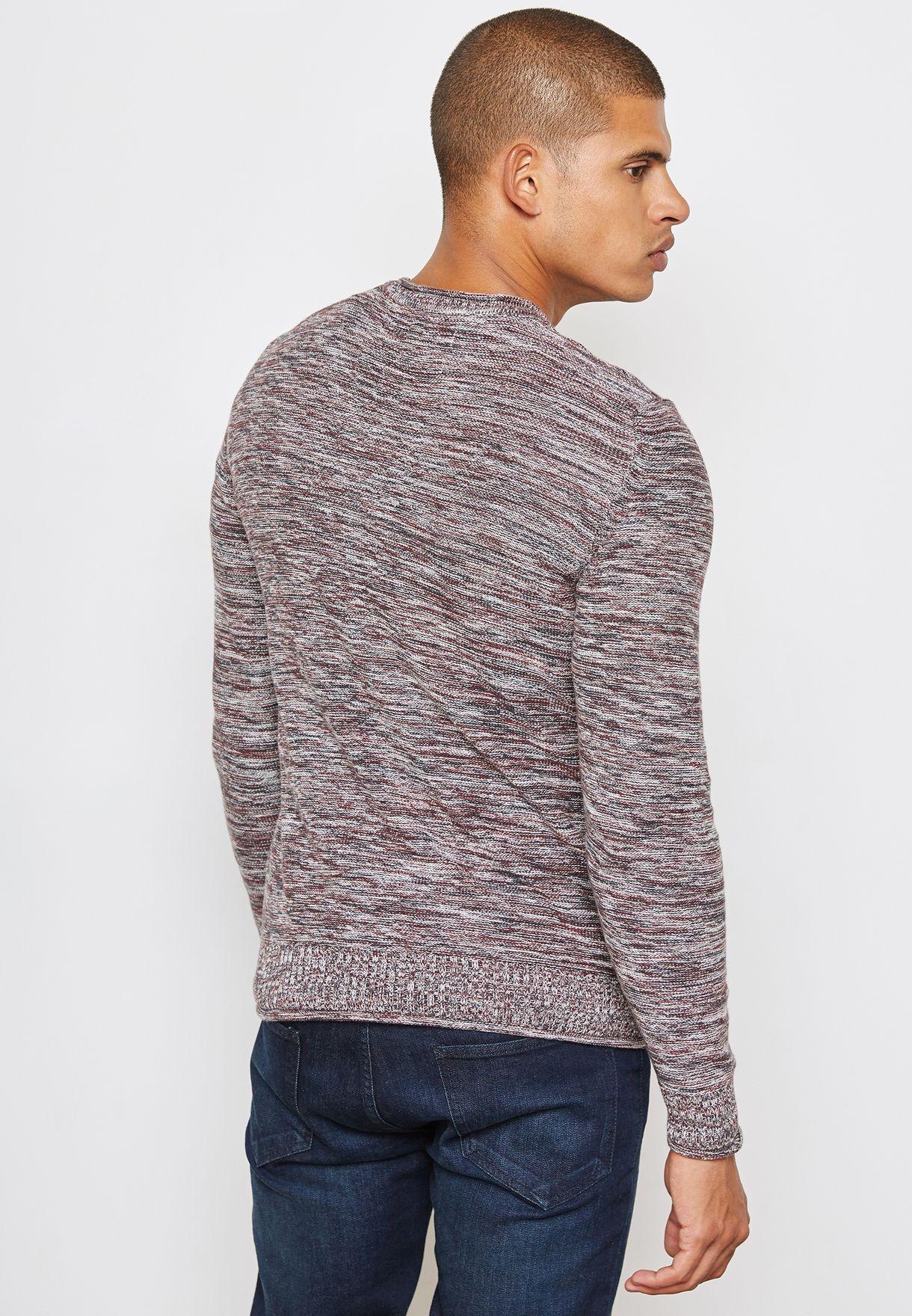 Slim Fit  Pocket Sweater