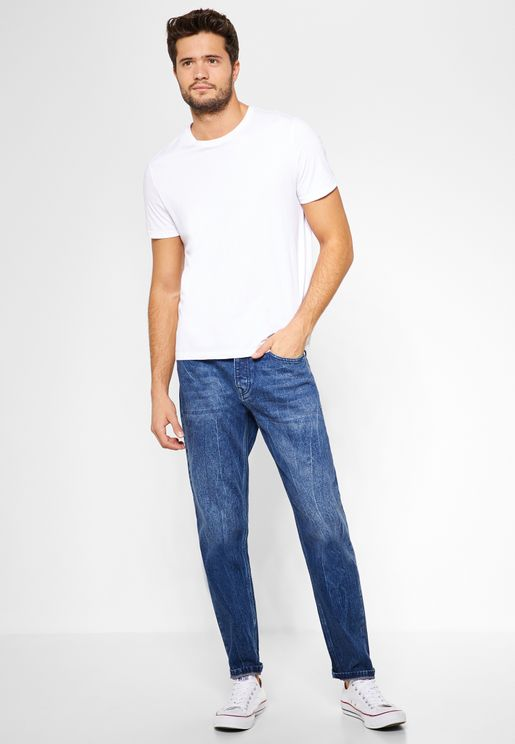 Rigid Tapered Jeans