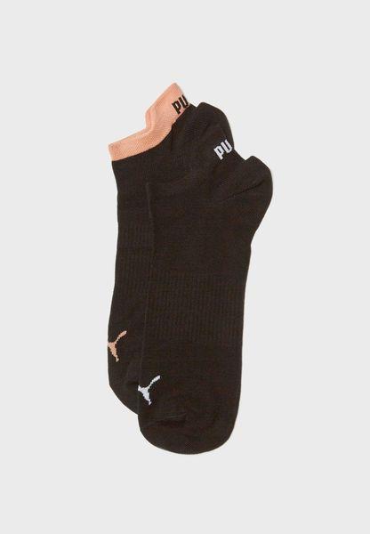 2 Pack No Show Socks
