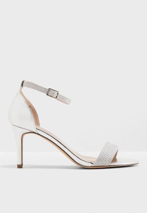 Bling Heeled Sandals