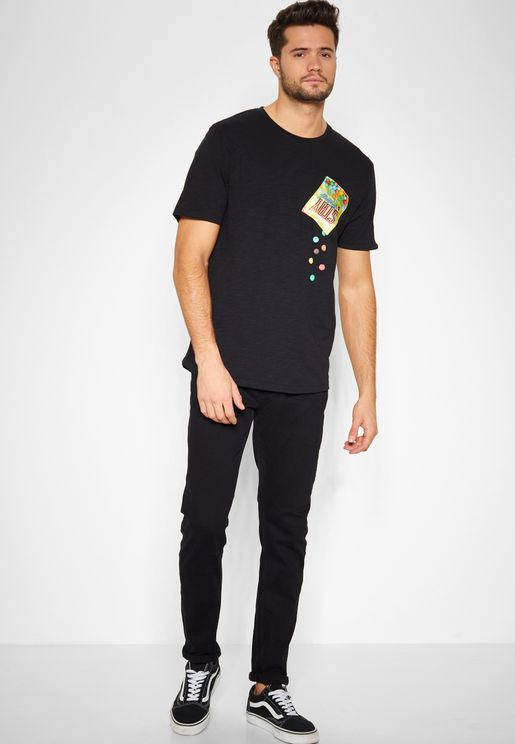 Rinse Wash Skinny Fit Jeans