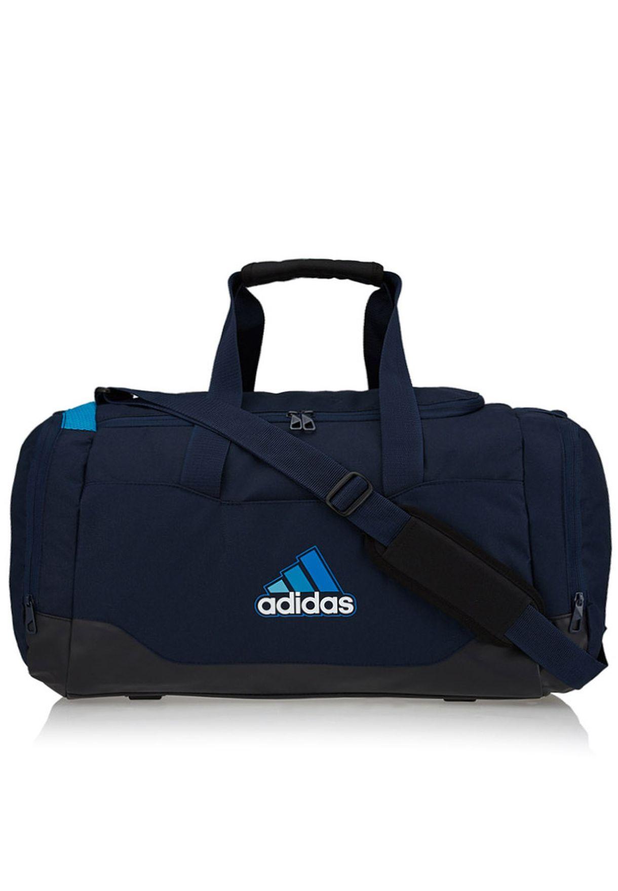 7e620b0090 Shop adidas navy Medium Perf Ess Duffel Bag F79167 for Men in Qatar -  AD476AC15AOQ