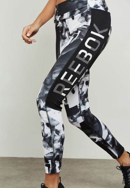 Workout Smoke Printed Leggings