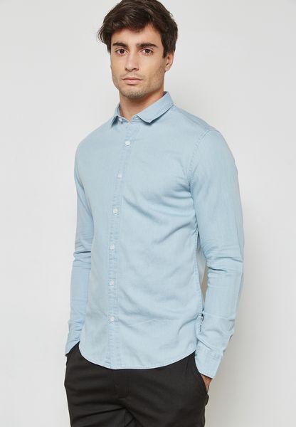 قميص جينز كاجوال